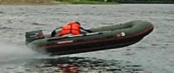 Лодка Катамаран Надувная. длина 3,70м., двигатель подвесной, 40,00л.с.