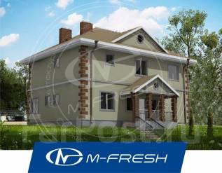 M-fresh Everest (Проект дома с 5 спальнями и террасой! Посмотрите! ). 200-300 кв. м., 2 этажа, 6 комнат, бетон