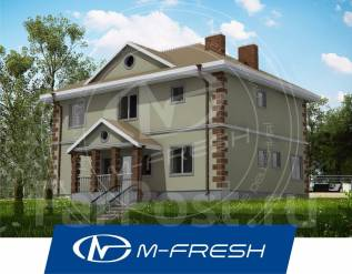 M-fresh Everest-зеркальный. 200-300 кв. м., 2 этажа, 6 комнат, бетон
