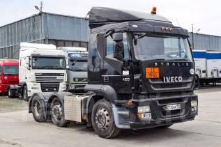 Iveco Stralis. Седельный тягач 6х2 2009 г/в, 10 308 куб. см., 11 500 кг.
