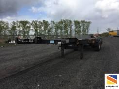 Schmitz S.CF. Schmitz SCF 24 полуприцеп контейнеровоз, 33 570 кг.