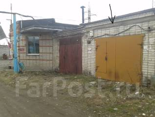 Продам гараж. улица Машинная 2, р-н Амурлитмаш, 20 кв.м., электричество, подвал. Вид снаружи
