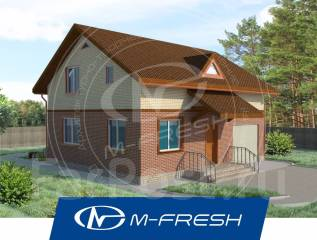 M-fresh Summer delicious-зеркальный (4-комнатный дом компактный! ). 100-200 кв. м., 1 этаж, 4 комнаты, дерево
