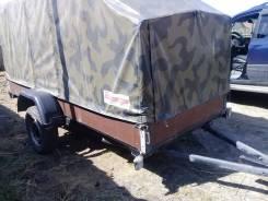 Прицеп для легкового автомобиля и внедорожника. Г/п: 750 кг., масса: 168,00кг.