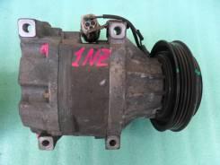 Компрессор кондиционера. Toyota Corolla Spacio, NZE121, NZE121N Двигатель 1NZFE