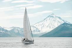 """Камчатка. Морское парусное путешествие, сафари """"Киты и фиорды """". 10 человек, 18км/ч"""