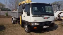 Hino Ranger. Продается самосвал с крановой установкой , 7 412 куб. см., 5 000 кг.