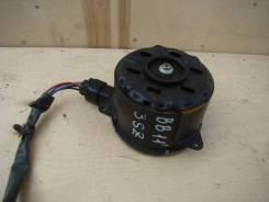 Мотор вентилятора охлаждения. Toyota bB, QNC21 Двигатель 3SZVE