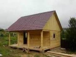 Строительство из бруса бань и дамов