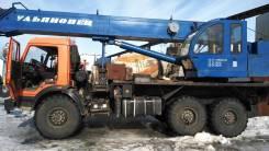 Ульяновец. Автокран ульяновец 30м с гуськом, 10 850 куб. см., 25 000 кг., 30 м.