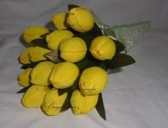 Букет тюльпанов из конфет! В наличии! Подойдет на последний звонок