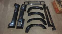 Обвес кузова аэродинамический. Mitsubishi Pajero Mini, H51A, H56A