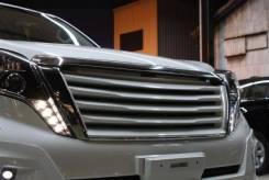 Решетка радиатора. Toyota Land Cruiser Prado, GDJ150, GDJ150L, GDJ150W, GDJ151W, GRJ150, GRJ150L, GRJ150W, GRJ151W, KDJ150, KDJ150L, LJ150, TRJ120, TR...