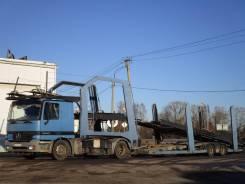 Mercedes-Benz Actros. Автовоз Мерседес Актрос и Лор, 11 946 куб. см., 7 000 кг.