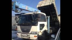Nissan Diesel UD. Кран самосвал эвокуатор и вышка, 9 200 куб. см., 8 000 кг.
