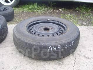 Одна летняя шина 165/80 R-13. x13 4x100.00 ЦО 53,0мм.