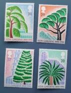 1990 Великобритания. Королевские ботанические сады Кью. 4м Чистые