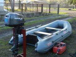 Marlin. Год: 2014 год, длина 3,10м., двигатель подвесной, 6,00л.с., бензин