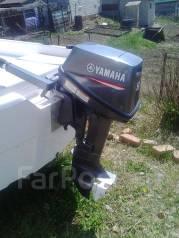 Yamaha. 8,00л.с., 2х тактный, бензин, нога S (381 мм), Год: 2014 год