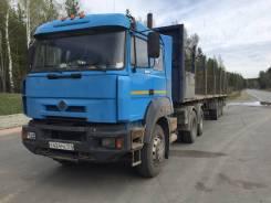 МАЗ. Полуприцеп бортовой со встр. кониками 2011 г. в на подушках, 33 000 кг.