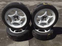 Колеса 5Zigen на шинах Dunlop Lemans LM704. 7.0x15 4x100.00 ET33