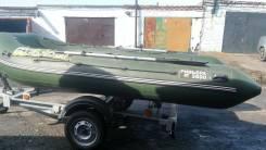 Мастер лодок Ривьера 3800 СК. Год: 2013 год, длина 3,80м., двигатель подвесной, 30,00л.с., бензин