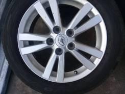 Продам летние колеса 205/55-16 Toyo на литых дисках Toyota Japan. 6.5x16 ET39 ЦО 60,0мм.