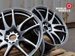 Work Emotion CR Kiwami. 8.5/9.5x19, 5x114.30, ET35/30, ЦО 73,1 мм.