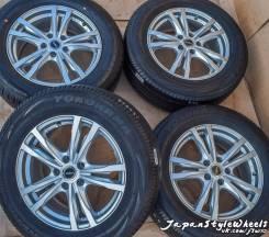 Bridgestone Feid 7Jx17'' 5x114.3 ET45 D73.1 / Yokohama+Dunlop 225/65. 7.0x17 5x114.30 ET45 ЦО 73,1мм.