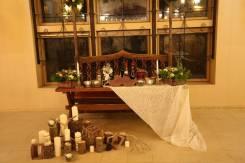 Интерьер для свадьбы в Рустикальнои стиле. Под заказ