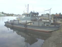 Костромской судомеханический завод. Год: 1958 год, длина 15,00м., двигатель стационарный, 70,00л.с., дизель. Под заказ