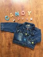 Куртки джинсовые. Рост: 68-74 см