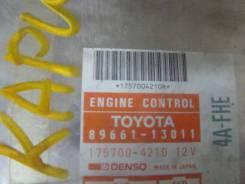 Блок управления двс. Toyota Sprinter Carib, AE95 Двигатель 4AFHE