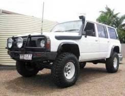 Шноркель. Nissan Safari Nissan Patrol, Y60 Двигатели: TD42, TB42E