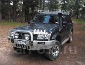 Шноркель. Nissan Patrol, Y61 Nissan Safari Двигатели: ZD30DDTI, TB45E, TD42