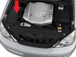 Защита двигателя пластиковая. Lexus GX470, UZJ120 Lexus IS200 / 300, GXE10 Двигатель 2UZFE