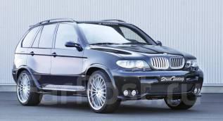 Обвес кузова аэродинамический. BMW X5, E53. Под заказ