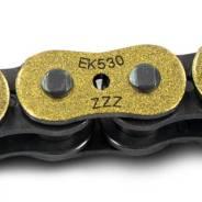Замок цепи EK 530ZZZ, QX-Ring, заклепка, золото металлик