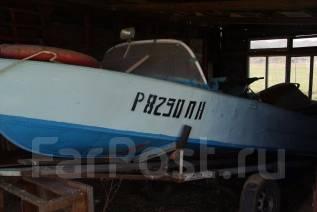 Казанка. Год: 1993 год, длина 5,00м., двигатель подвесной, 12,00л.с., бензин