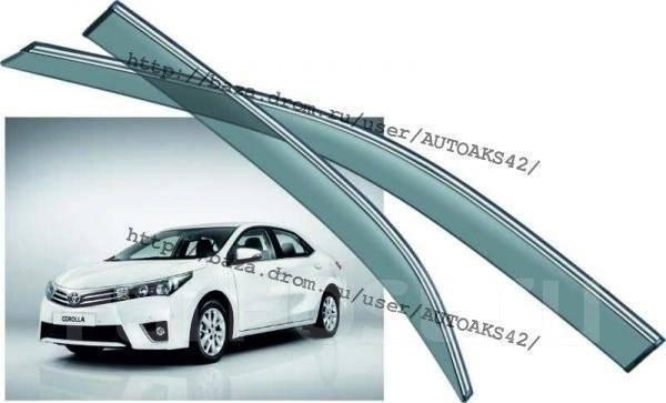 Ветровик на дверь. Toyota Corolla, 10, 11, 16. Под заказ