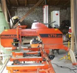 Wood Mizer LT70. Ленточная пилорама