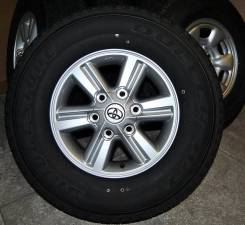 Продается комплект летних колес. 7.5x15 6x139.70 ET30 ЦО 106,2мм.