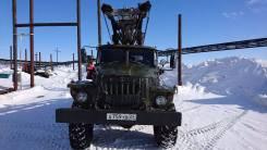 Урал 4320. Буровая МРК-750, 164 куб. см., 12 000 кг.