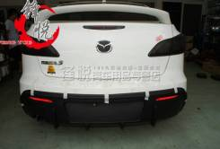 Накладка на бампер. Mazda Axela, BLEAP, BL5FP, BLEFP Mazda Mazda3, BL. Под заказ