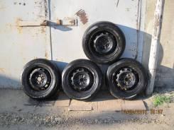 Dunlop Eco EC 201. Летние, 2010 год, износ: 50%, 4 шт