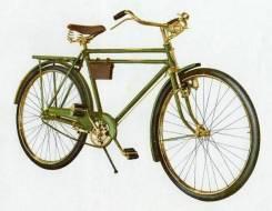 Велосипед для сторожа