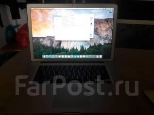 """Apple MacBook Pro 15 2011 Late MD318. 15.4"""", ОЗУ 8192 МБ и больше, диск 320 Гб, WiFi"""