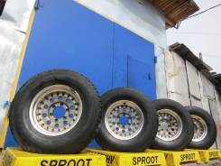 Dunlop. 8.0x15, 6x139.70, ET-28, ЦО 109,0мм.