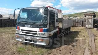 Isuzu Forward. Продается грузовик с манипулятором , 7 166 куб. см., 3-5 т