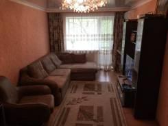 3-комнатная, п. Пограничный, Советская, д.68. Центр, частное лицо, 57 кв.м.